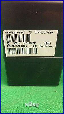 00-06 Mercedes W220 C215 W215 S430 S500 CL600 Central Lock Door Vacuum Pump PSE
