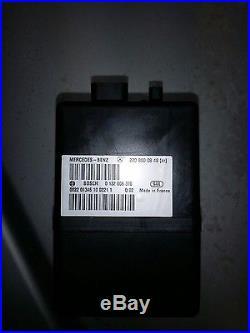 00-06 Mercedes W220 S500 S430 S55 S600 Cl500 Door Lock Vacuum Pump Oem 02 03 04
