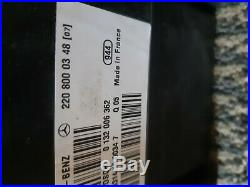 00-06 Mercedes W220 S500 Vacuum Pump Central Locking Door Motor 220 800 02 48
