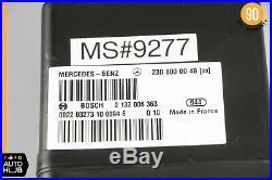 03-11 Mercedes R230 SL500 SL55 AMG Door Locking Vacuum Pump 2308000048 OEM 49k
