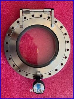 10 DN200CF CF Conflat Viewport UHV Vacuum Chamber Load Lock Access Door