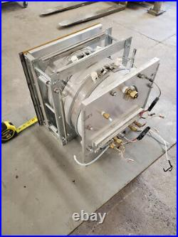 12 x 11 Circular Vacuum Deposition Plasma Etch Heated Aluminum VAC Chamber