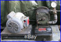 1940s DELAVAL MILKER VACUUM PUMP -SPEEDWAY no. 73- 1/3hp Milking Machine VINTAGE