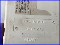 1997 2000 Audi A4 Central Door Locking Vacuum Pump Unit P 8L0 862 257 B OEM