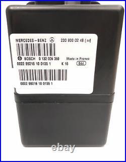 2000-2006 Mercedes W220 S430 S500 S600 Cl500 Central Door Vacuum Pump 2208000248