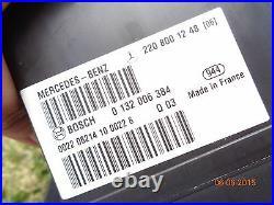 2004-2006 Mercedes-Benz W220 S350 S430 S500 S600 S55 AMG MASTER lock vacuum pump