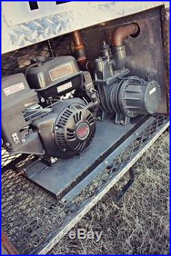 2006 Ford F450 1600 gallon septic sewer vac vacuum jetter pump pumper tank truck