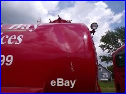 2009 International 7600 3300 Gallon Tandem Pump, Vacuum, Septic, Well truck