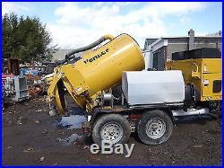 2012 Vermeer V500LE-HD Vacuum Excavator Trailer Pump NO RESERVE Hydro Vac