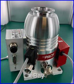 2016 Pfeiffer HiPace 80 PM P03 942 Turbo Pump TC110 Controller Venting Valve Fan