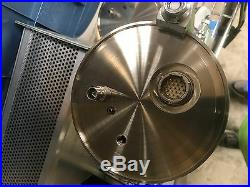 2-Port Stainless Steel High Vacuum Chamber with Cylindrical