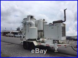 3600 CFM Hurricane 755 Cyclone Loader Vacuum Trailer 27 Vector Vactor