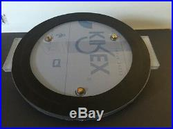 5 Gallon Degassing Vacuum Chamber Lid 13 Diameter Polycarbonate Ready To Use