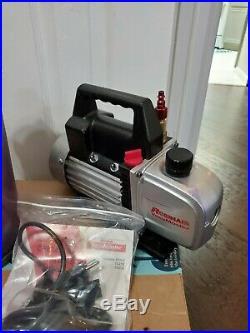 6'' x 12 Vacuum Chamber Turntex and RobinAir Vacuum Pump Kit Wood Stabilizing