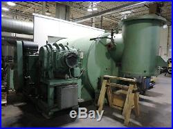 84 X 124 Vacuum Chamber used with 36 diff, huge Stokes 912 mech and reels