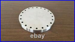 8 Conflat (DN160F) Blank Flange / Cap Used Good Condition