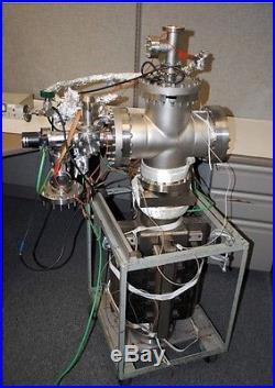 8 Cross Stainless Vacuum Chamber Leak Adjusttable valve Varian Pump 951-5106