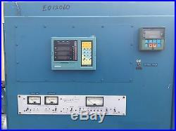 Advanced Vacuum System Hmf-12-12-24-1900 30 Diam. Vacuum Chamber Diffusion Pump