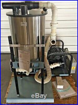 Air Techniques Dual STS5 Dental Suction Dry-Vac Vacuum Pump System