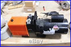 Alcatel 2012A Dual Stage Rotary Vacuum Pump
