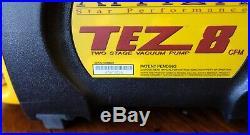 Appion TEZ 8 Refrigerant Vacuum Pump Unit 2018 Mfg. / Barely Used