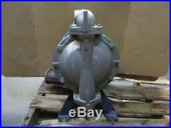 Aro / Ingersoll-rand 1-1/2 Stainless Diaphragm Pump, #1230930j Used