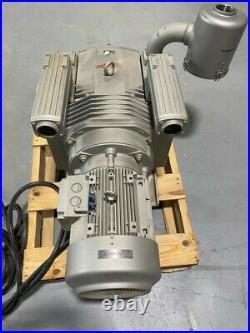 BECKER MODEL# VTLF 250, OIL-LESS VACUUM PUMP 300 CUBIC METERS/HOUR 200 mBAR