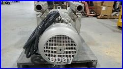BECKER MODEL # VTLF 250, OIL-LESS VACUUM PUMP 300 CUBIC METERS/HOUR 200 mBAR