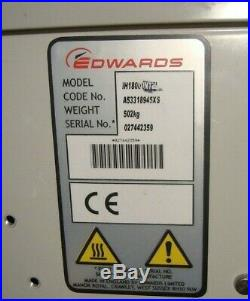 BOC Edwards Dry Vacuum Pump iH1800 USED
