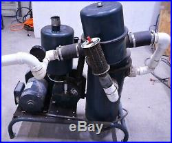 Babson Bros 550 20CFM Surge Alamo Vacuum Pump Milking Machine Maple Syrup Milker