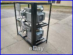 Becker VTLF 250SK 2 vacuum pump stack