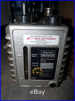 Boc Edwards 2 E2m2 Rotary Vane Dual Stage Mechanical High Vacuum Pump