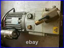 BuschRB009D (10M3/hr) Vacuum Pump From SAMMIC VAC PACKER, serviced/tested