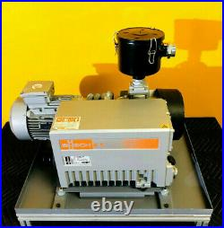 Busch RA 0100 F 503 71 ACFM Pumping Speed 5 HP Rotary Vane Vacuum Pump. Tested