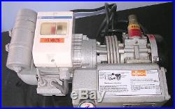 Busch Rotary Vane Vacuum Pump RB0021. S015.110 TESTED TO 26Hg Vacuum 120v 14 cfm