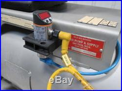 Busch SV-1016-B-000-IHXX Vacuum Pump Assembly With15 Gal. Tank & Pressure Switch
