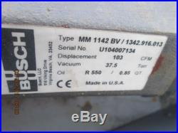 busch mink mm 1142 bv manual