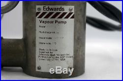 Buy it now super low price -Edwards Diffusion Vapour Pump E203S