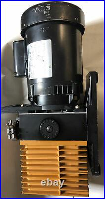 CIT-Alcatel ZM2004A Rotary Vane Vacuum Pump, 1/3 Hp, 115/230 Volt