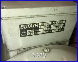 CNC table DUTAIR SIDE CHANNEL BLOWER / VACUUM industrial vacuum pump