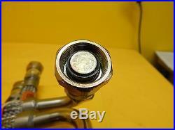CTI-Cryogenics 8043074G036 Helium Line Supply/Return CryoLine Set of 2 MRC Used