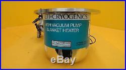 CTI-Cryogenics 8112898G005 8F Cryopump On-Board 8112582G001 MRC Eclipse Used