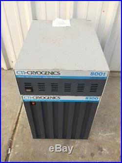 CTI-Cryogenics 8300 Compressor PN 8052001 With 8001 Controller PN 8052000