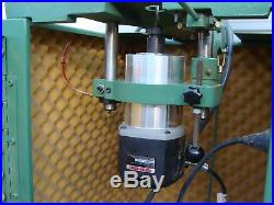 C. R. Onsrud Model 2003 Inverted Pin Router With GAST Vacuum Pump No Work Top