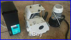 Cattani Turbo Vac Uni Jet 75 Dental Dry Suction Vacuum Pump 2010 Needs CPU