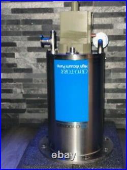 Cryo-Torr 10 High Vacuum Pump Refurbished (With Compressor)