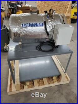 Custom LACO Stainless Vacuum Drying Oven Chamber 36 x 17 Tested withcart 133L