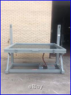 Douthitt Heavy Duty Screen Vacuum Frame Table 72x52 with pump Warranty