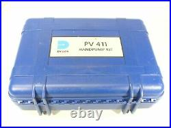 Druck GE PV 411 Portable Pressure and Vacuum Hand Pump Kit With Case