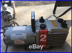 EDWARDS Dual Stage Vacuum Pump 110V